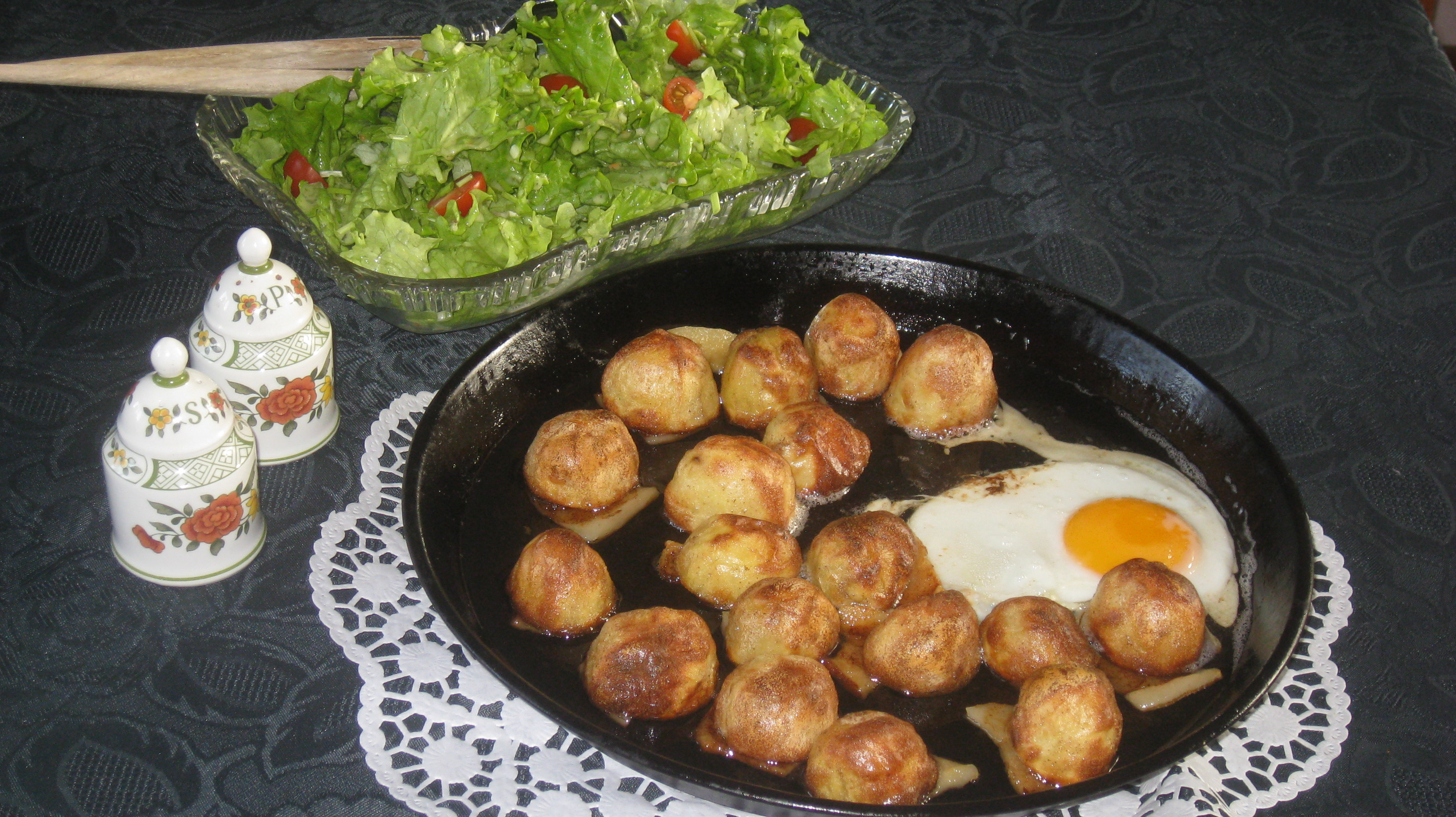 Backöfchenkartoffeln, nach Oma Rosa`s Art