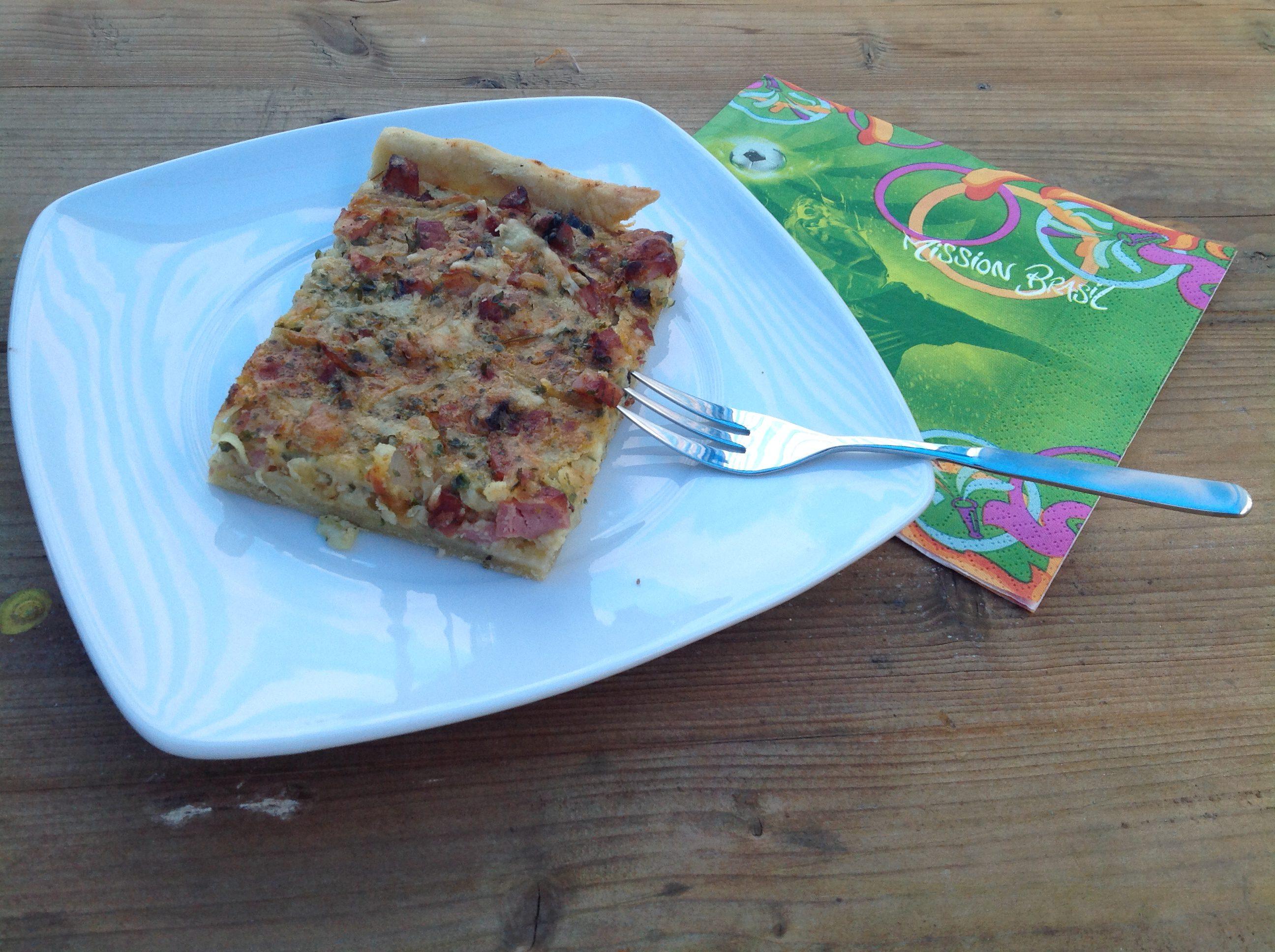 Zwiebel-Speckkuchen